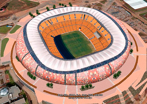<h5>Johannesburg 2010 World Cup Stadium </h5>