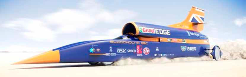 <h5>Filming the Bloodhound Super Sonic Car Land Speed Record</h5>