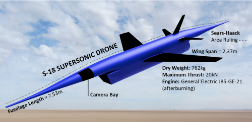 <h5>S-18 Supersonic Filming Drone</h5>